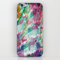 Bright Color Splash Abst… iPhone & iPod Skin