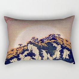 Rectangular Pillow - Guiding me across Nobe - Kijiermono