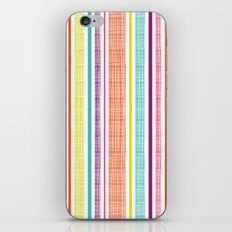 Textured Stripes iPhone & iPod Skin