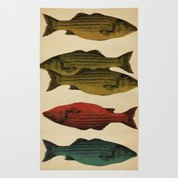 One fish Two fish Rug