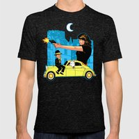 Film Couleur Mens Fitted Tee Tri-Black SMALL