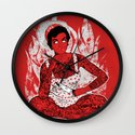 Housewife From Hell Wall Clock