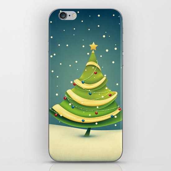 Christmas Tree iPhone & iPod Skin