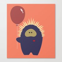 Love Monster 4 Canvas Print