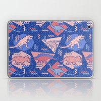 Nineties Dinosaurs Patte… Laptop & iPad Skin