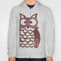 Retro Owl Hoody