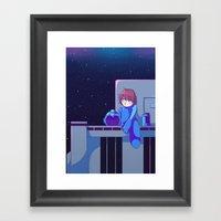 Megaman II  Framed Art Print