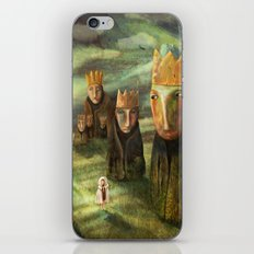 In the Company of Kings iPhone & iPod Skin