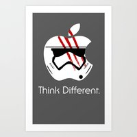 Think Different. Art Print