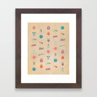 HURTFUL  Framed Art Print