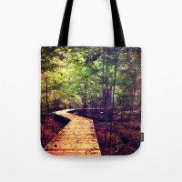 Don't Stop Walking Tote Bag