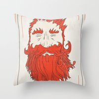 Beardsworthy Throw Pillow