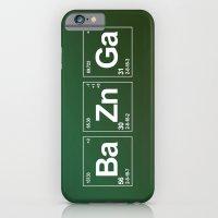 iPhone Cases featuring Breaking Bazinga by dutyfreak