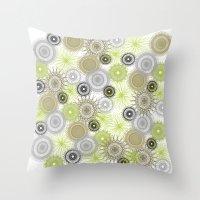 Modern Spiro Art #6 Throw Pillow