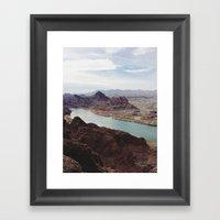 The Colorado River Framed Art Print