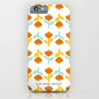 iPhone & iPod Case featuring PATTERN 1 by Mi Jardín Secreto