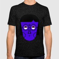 03 Mens Fitted Tee Tri-Black SMALL