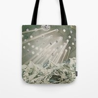 Loneliness Of White Tote Bag
