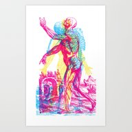 Andreae Vesalii 1 Art Print