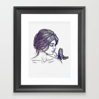 If Thou Must Love Me Framed Art Print