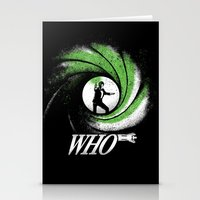 The Name's Who Stationery Cards