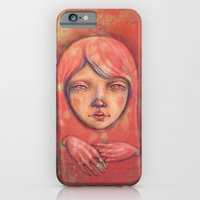 iPhone & iPod Case featuring The Ghost in Pink by Zina Nedelcheva