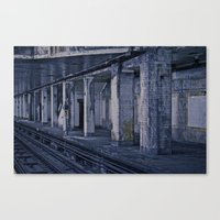 Empty Station Canvas Print