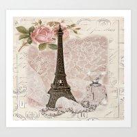 My Paris Art Print