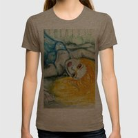 beautiful creature Womens Fitted Tee Tri-Coffee SMALL
