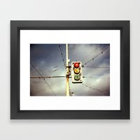 Collection Point Framed Art Print