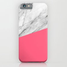 Marble and Pink iPhone 6 Slim Case