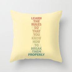 Life Lesson #5 Throw Pillow