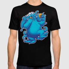 CTHOOKIE MONSTER Mens Fitted Tee Black SMALL