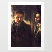 I Walk Beside You Art Print