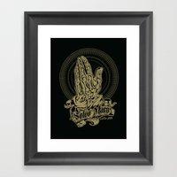 Total Recall Inspired Pr… Framed Art Print