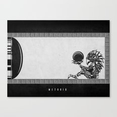 Metroid - The Chozo Geek Line Artly Canvas Print