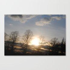 Asunder. Canvas Print