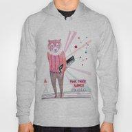 Pink Tiger Hoody