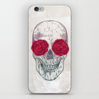 Skull & Roses iPhone & iPod Skin
