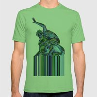 Goddess of Versailles Mens Fitted Tee Grass SMALL
