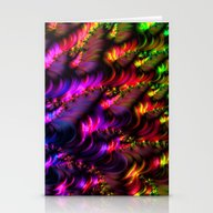 Stationery Cards featuring Special Fractal 29 by MehrFarbeimLeben