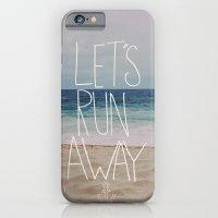 Let's Run Away: Sandy Beach, Hawaii iPhone 6 Slim Case