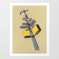 New york 09 Art Print
