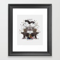GUIDED BY VOICES Framed Art Print
