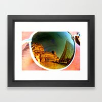 Abstract View Framed Art Print