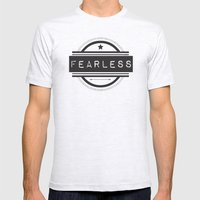 #Fearless Mens Fitted Tee Ash Grey SMALL