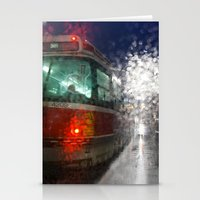 Rain Rider Stationery Cards