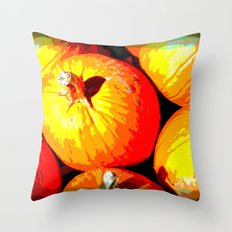 Pumpkin Love Throw Pillow