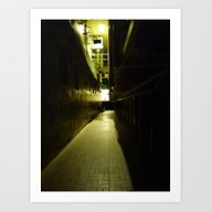 Art Print featuring Haunted Penitentiary by Dantastic Photos