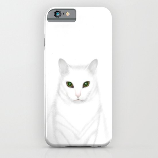 Pixel | The Cat who Walks Through Walls iPhone & iPod Case